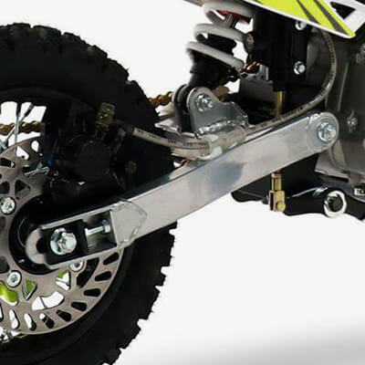 90R Spec: Extended Swing Arm