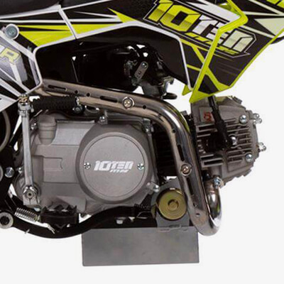 90R Supermoto Spec: 90cc High-Performance 4-Stroke Engine