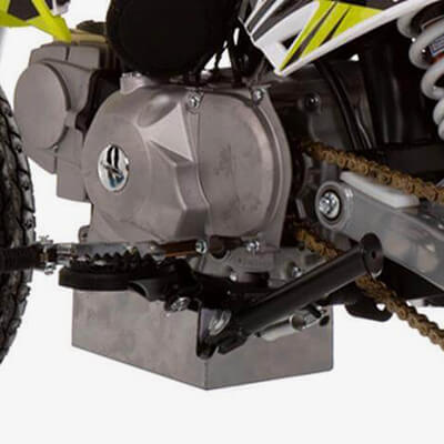 90R Supermoto Spec: Semi-Automatic Gearbox